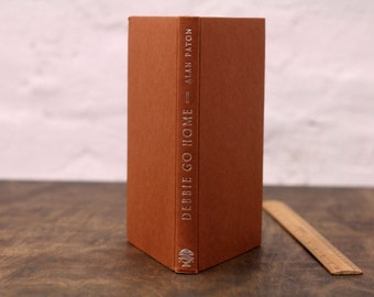 """Upcycled Notebook Tartuensis Classic """"Pretty Brown"""", from Recycled Book Covers"""