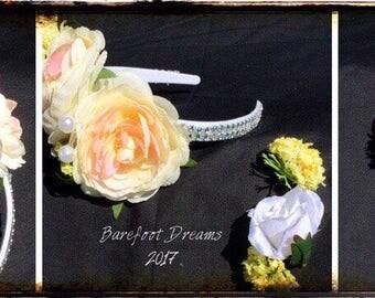 Flower Princess Headband