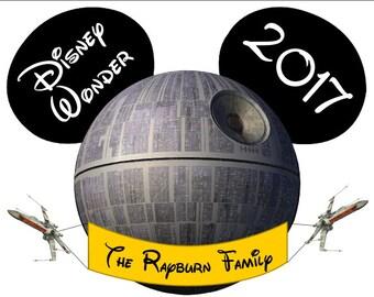 Disney Cruise Magnets for Door, Star Wars Death Star Magnet, disney cruise magnet, disney vacation, disney door magnet, disney cruise gift,