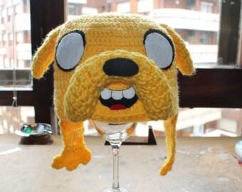 Jake the dog amigurumi hat (Adventure time) (PDF pattern)