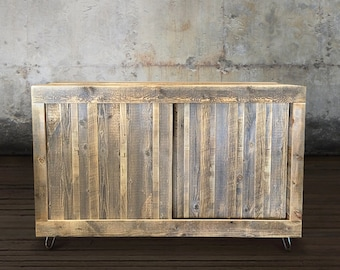 Reclaimed Wood Television Stand/Credenza