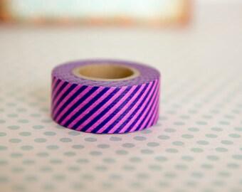 Masking tape, washi tape purple Masté MT 15mm x 7m