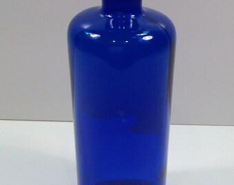 Vintage Cobalt Blue Bottle