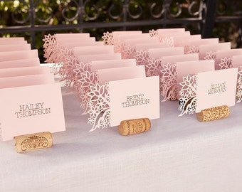 Wedding place cards etsy for Wedding place name cards