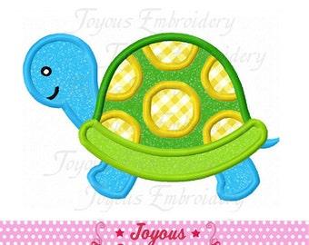 Instant Download Turtle Applique Embroidery Design NO:2291