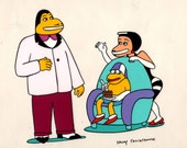 "Animation cel  ""Make Me Psychic""  Party cake 1978"