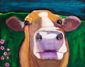 Down the Road in Violet, Sweet Cow