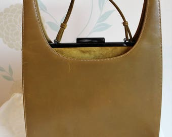 Vintage TANNER KROLLE London 2 in 1 HANDBAG Very Rare and utterly beautiful