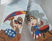 Boutique Chip and Dale Fun At The Beach