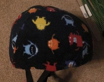 Double layer Fleece helmet cover.