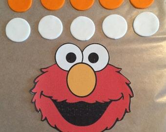 Ready -to- Ship Elmo Cake Decorating Kit