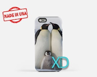 Penguin iPhone Case, Animal iPhone Case, Penguin iPhone 8 Case, iPhone 6s Case, iPhone 7 Case, Phone Case, iPhone X Case, SE Case
