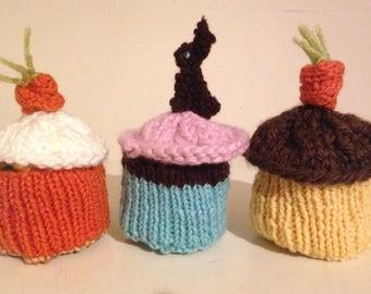 Guiltless Knitted  Easter Cupcake