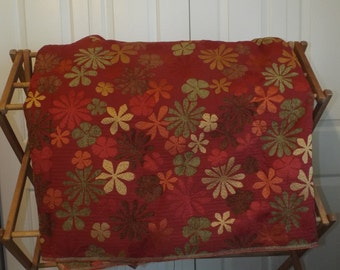Home Decor Fabric Flower Power Upholstery Colorful