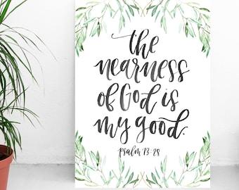 The Nearness of God Art Print