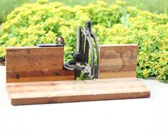 Vintage Wood Mitre Box