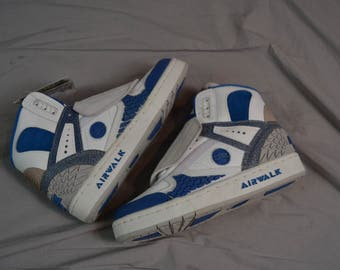 Bangin' Vintage 90's AIRWALK Prototype 600 Hightop Skate Shoes / Size 6