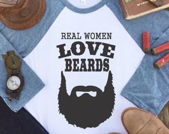 Wifey Shirt - Beard Shirt - Beard Gift - Bearded Man Shirts - Love my Husband - Tumblr Shirt - Beard Shirts for Women - Womens Beard Shirt