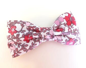 Pink, Mauve Bow Tie, Pink Men's Bow Tie, Pink Pretied Men's Bow Tie, Pink Toddler Floral Bowtie