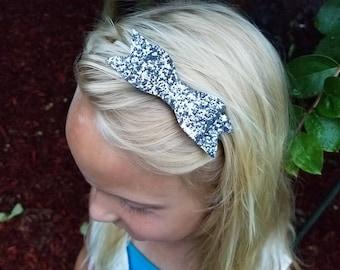 Large Felt Bow Headband