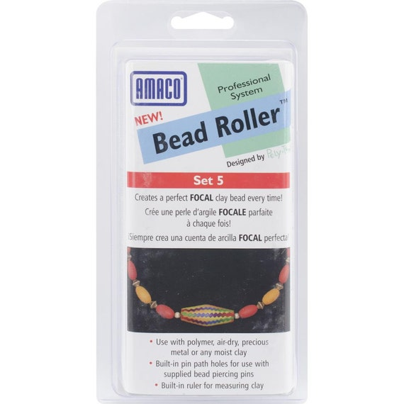 Amaco Bead Roller set 5 Makes a perfect focal bead every time.
