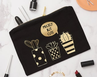 Cactus Make Up Bag