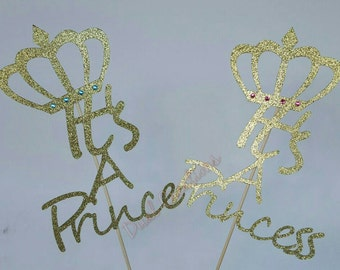 its a prince or princess cake topper or center piece