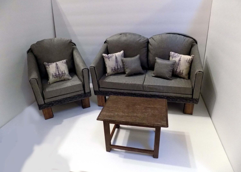 AG Doll Furniture Living Room Set