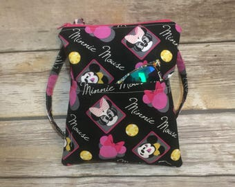 Disney Bag, Minnie Bag, Disney Crossbody, Sling Bag, Messenger Bag, to go bag, minnie mouse
