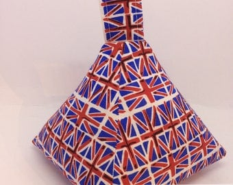Union Jack / Union Flag Pyramid Doorstop