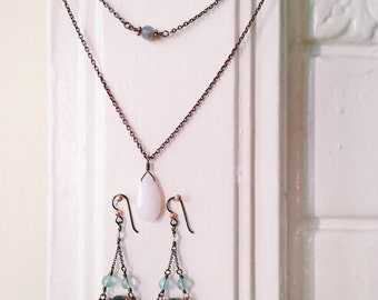 The Aphrodite - Chain and Earring Set