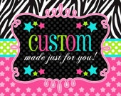 Hannah custom order
