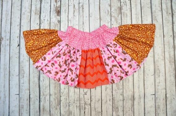 Chipmunk Twirl Skirt 2/3