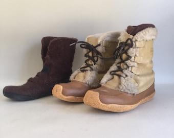 Men's Vintage Sorel Muckluck Boot, size 9