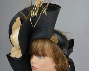 Kentucky Derby Hat Coctail Hat Couture Fascinator