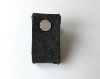 door handle in black