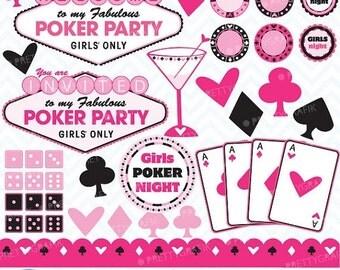 Poker clip art – Etsy