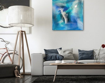 60cm x 60cm Resin Art Abstract Painting - OCEANIA