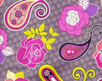 Floral and Paisley Pillow Bed, Girls Pillow bed, Children's Pillow Bed, Pillow Mattress, Sleepover Bed