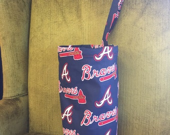 Atlanta Braves trash bag for your car
