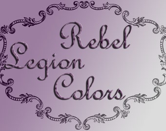 Rebel Legion Jedi Colors