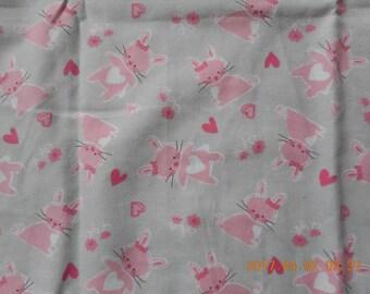 Baby Bunny Pillowcase