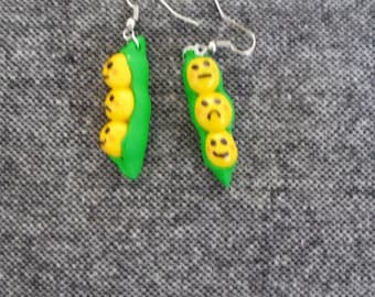 earring small yellow weight