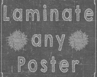 Poster Lamination
