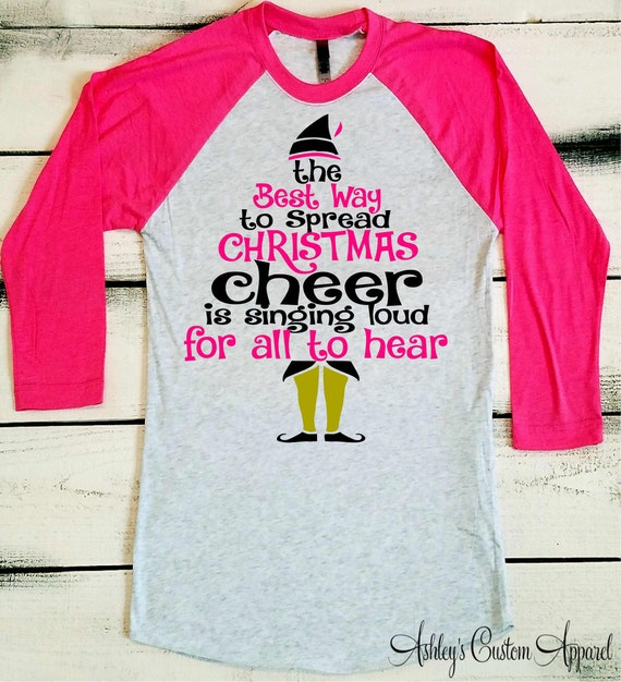 Funny Christmas Shirt Christmas Elf Shirt The Best To Spread