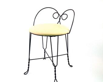 Vanity chair | Etsy