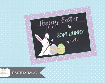 "Easter ""Somebunny Special"" Tag (Instant Download)"