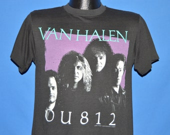 80s Van Halen OU812 Sammy Hagar t-shirt Medium