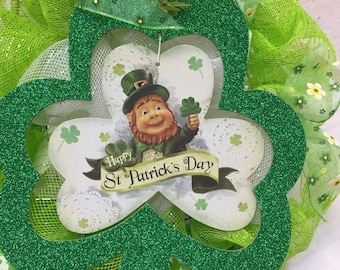 St. Patrick's Day Luck O' The Irish wreath