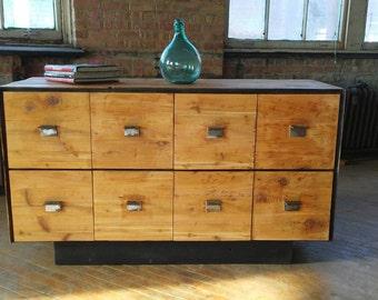 Vinylhead Record Cabinet - Vinyl Storage Cabinet